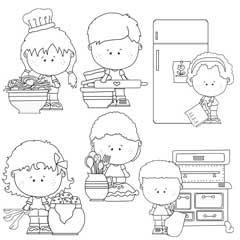 The Munchkin Kids in the Kitchen