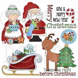 The Night Before Christmas Clip Art