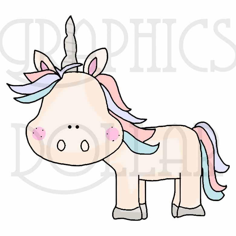 The Unicorn Kingdom Clip Art