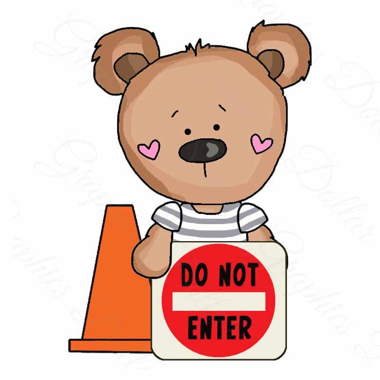 T-Shirt Bears Things That Go Exclusive Clip Art