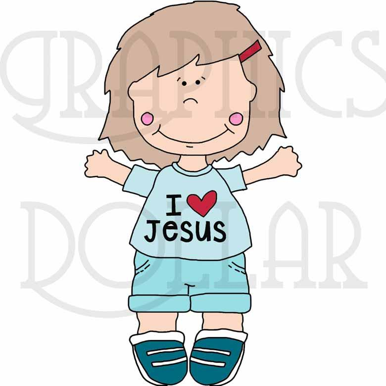 Vacation Bible School Kids Clip Art