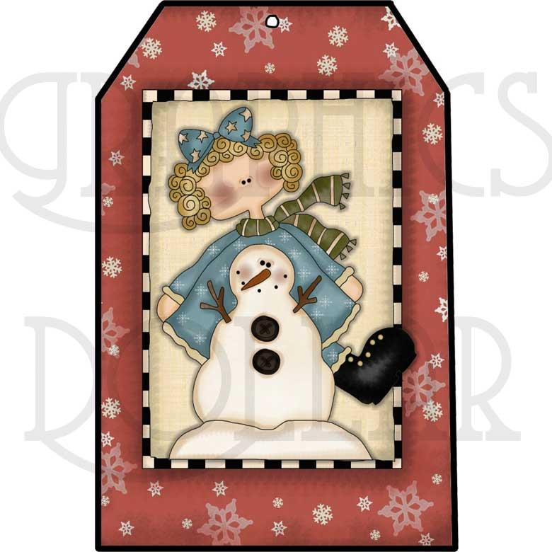 Winter Wonderland Tags